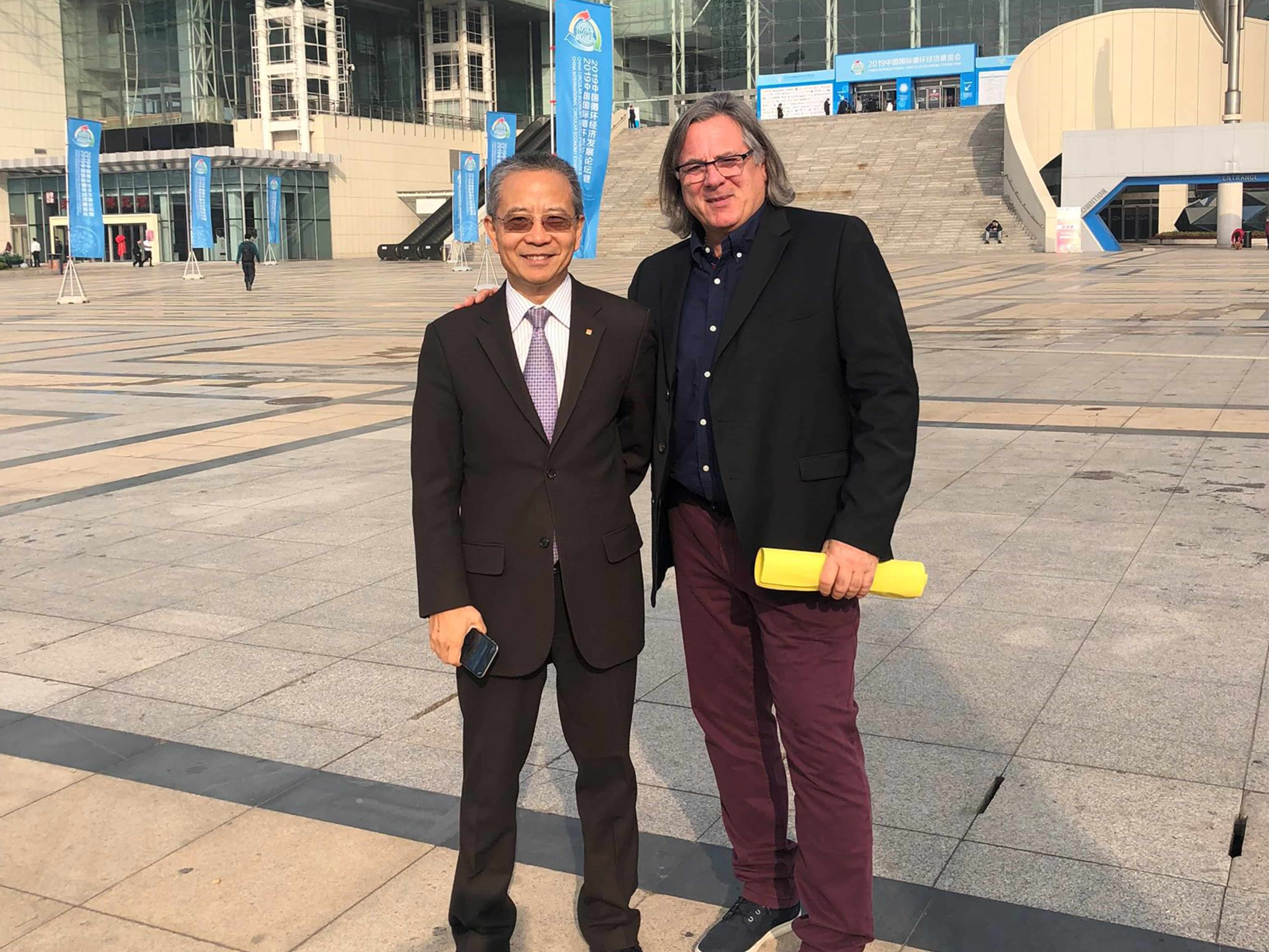 The President of the Organization for Climate and Circular Economy in Nanjing, China (21-23.10.2019)